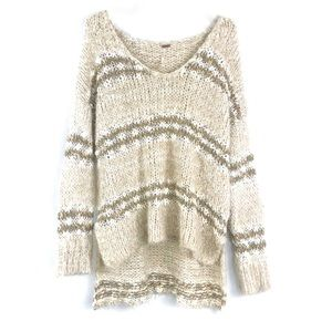 Free People Linus Oversize Slouch Wool Sweater